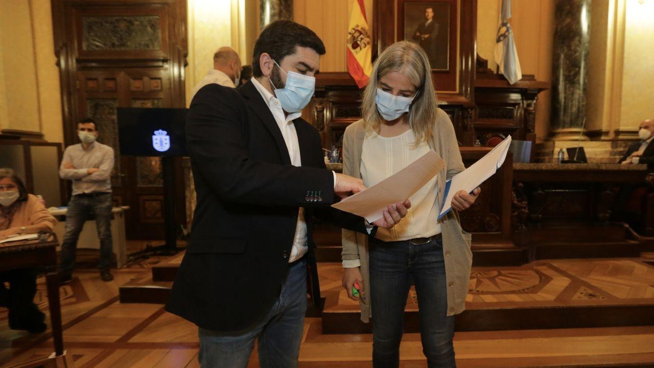 Feijoo, durante la videoconferencia con Sánchez del domingo