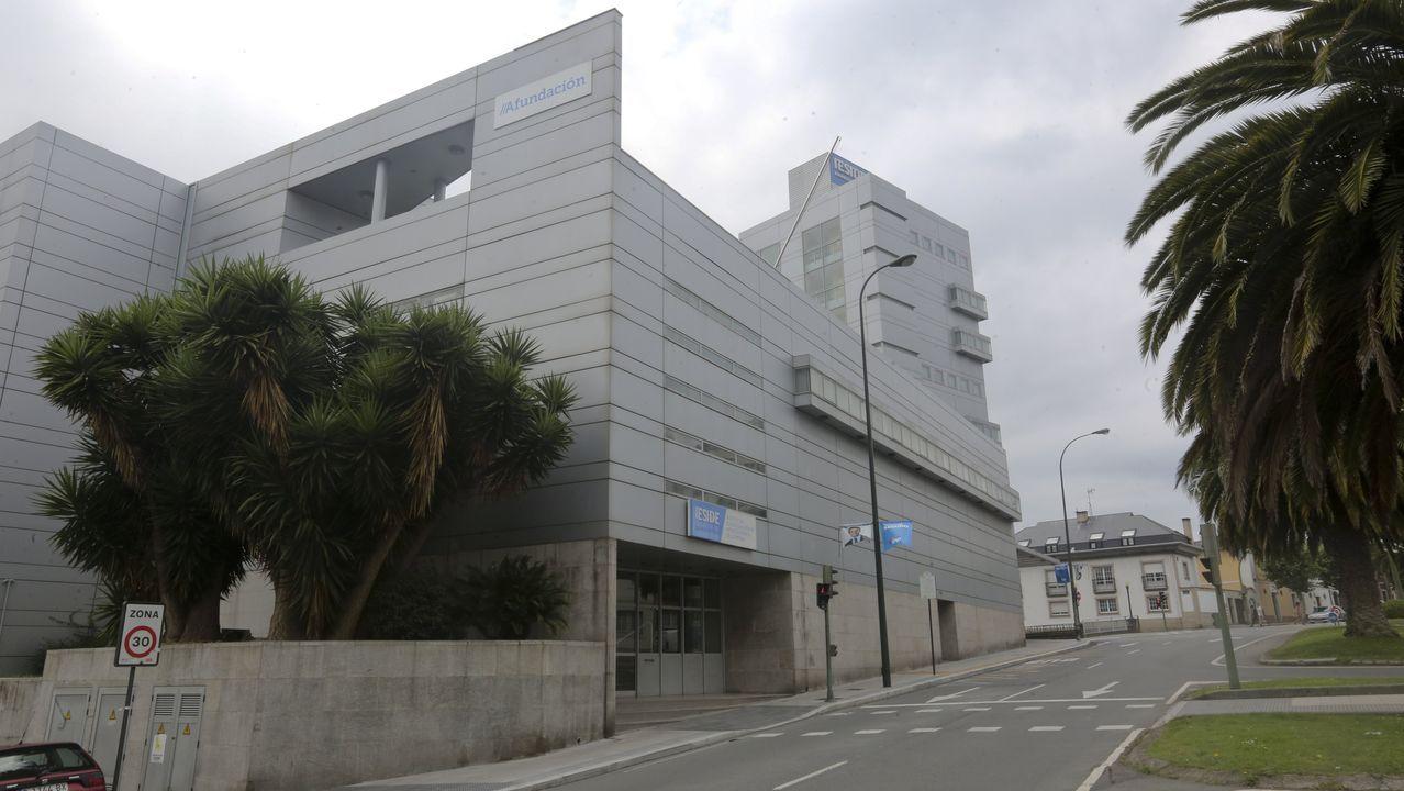 Sede central de Ieside, el campus de Abanca, en A Coruña