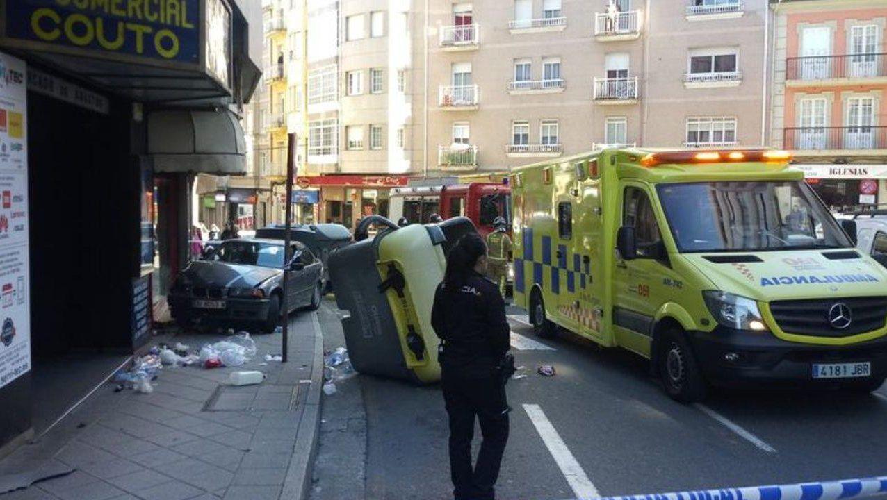 El atropello ocurrió en la calle Ervedelo de Ourense