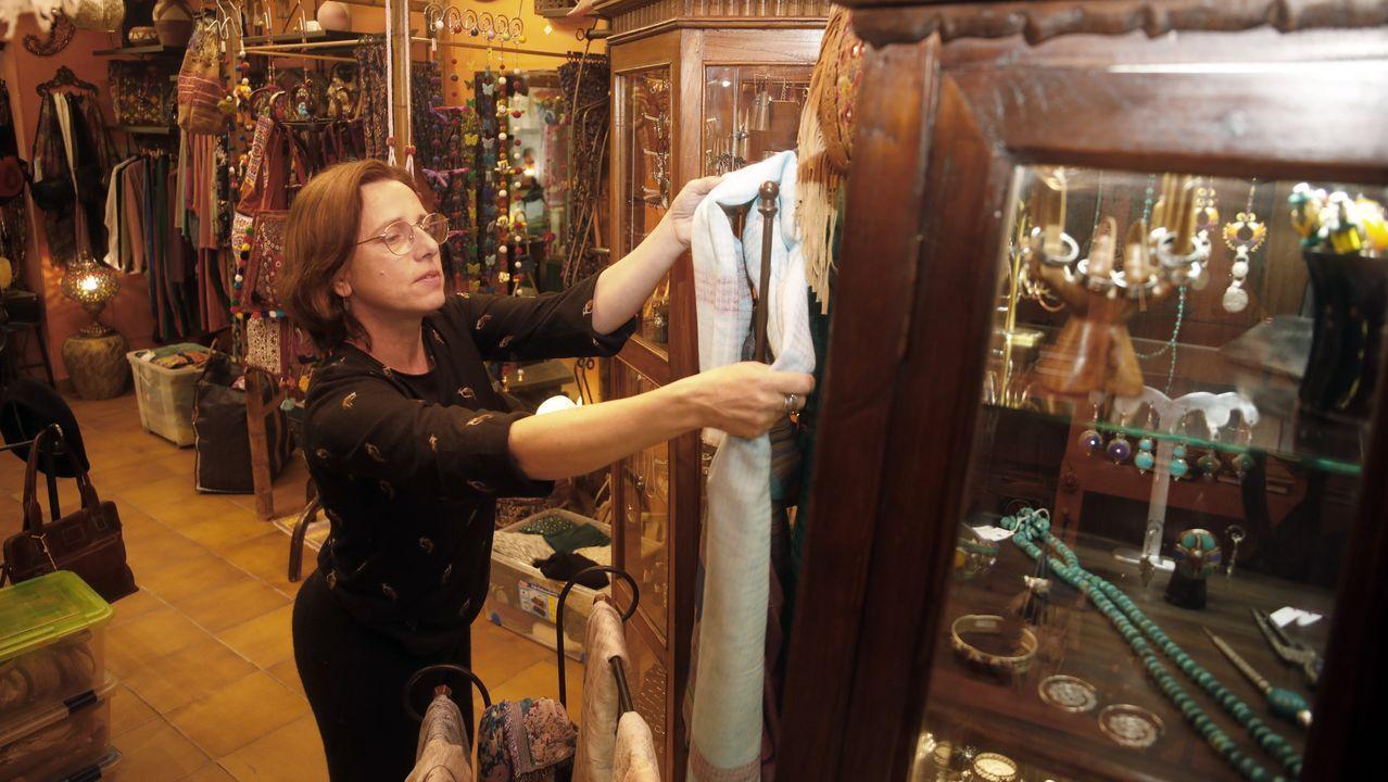 Tienda Xoaniña, de Lugo, que se prepara para abrir este lunes 4