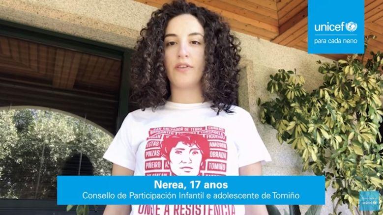 La campaña de Unicef para las elecciones del domingo.La asturiana Raquel Fernández, jefa de Comunicación y Alianzas Privadas de la misión de Unicef en el Líbano