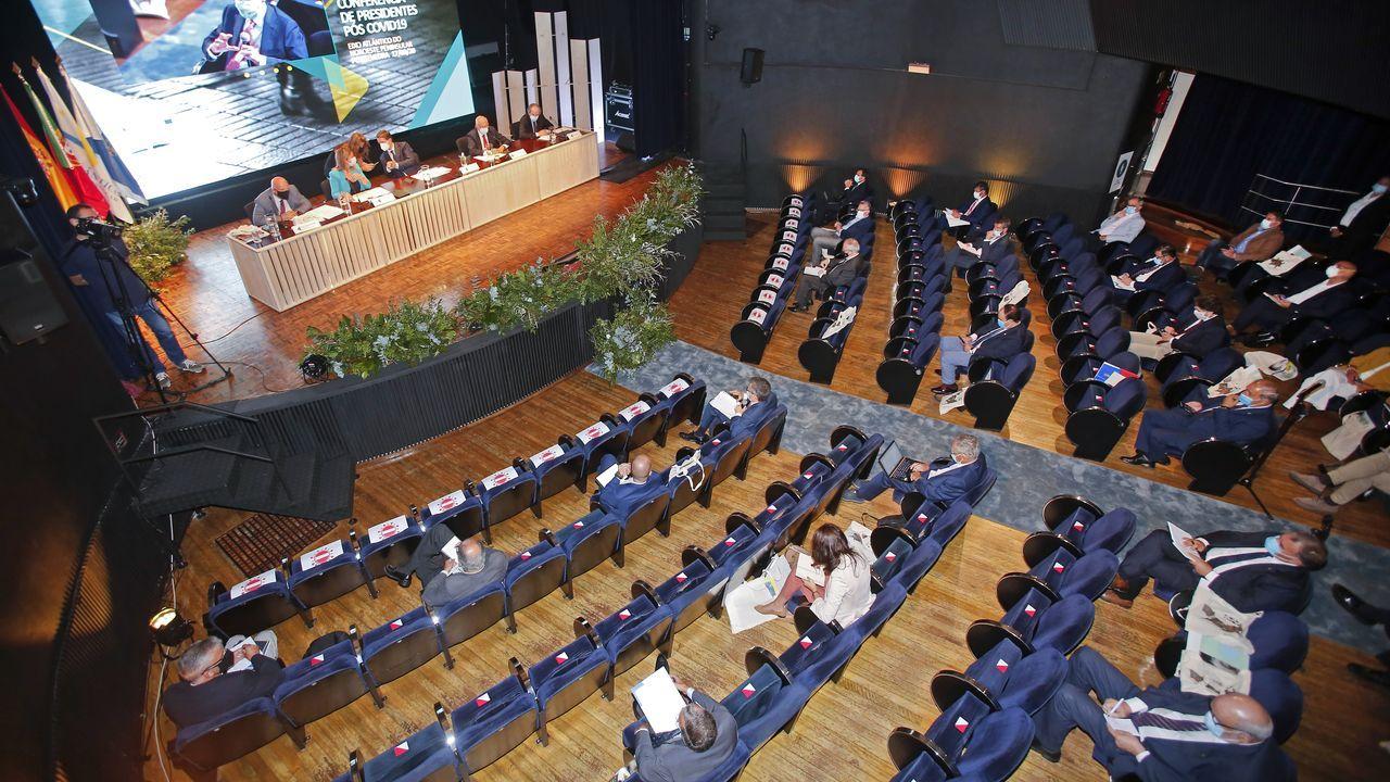 El pregón de San Froilán en imágenes.Gonzalo Caballero, secretario general del PSdeG
