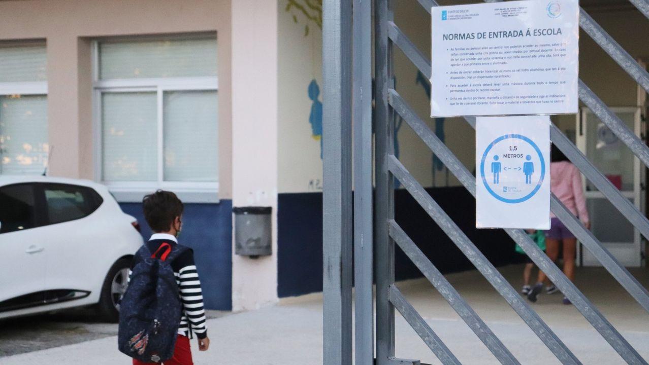 La Consellería de Sanidade mantiene activo un caso en el Ramón de Artaza de Muros