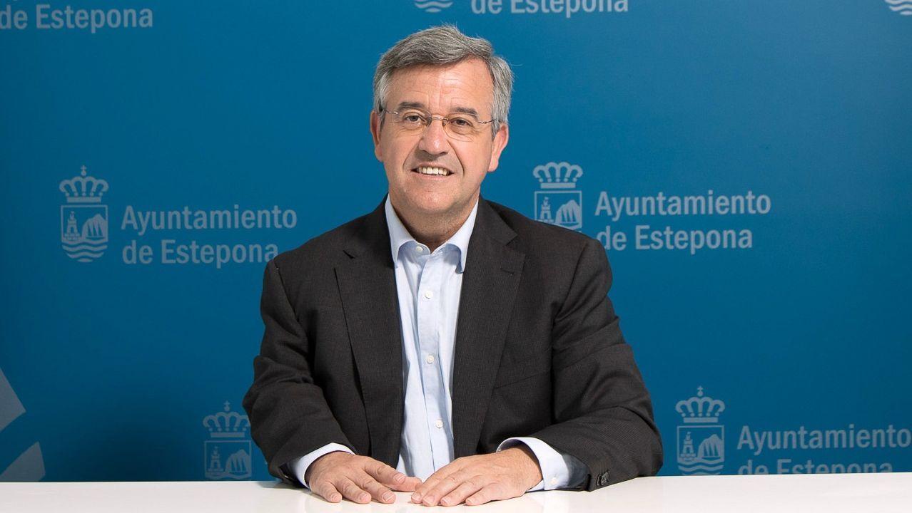 José María García Urbano, alcalde de Estepona y vicepresidente de la FEMP