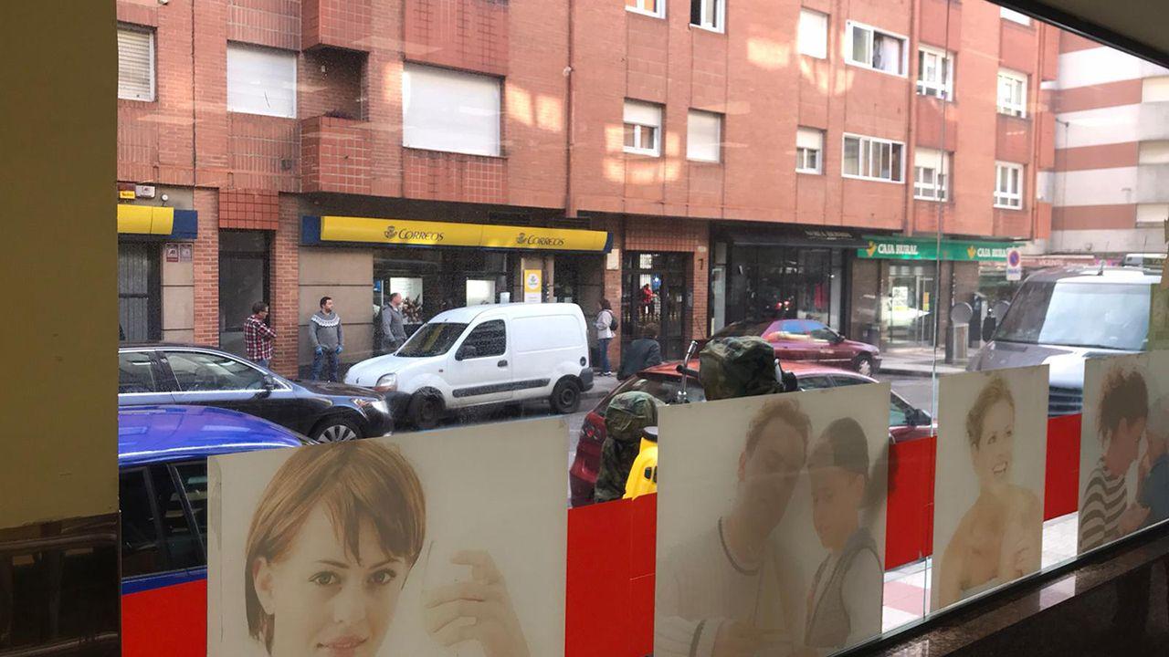 En la plaza del Fontán. Oviedo.