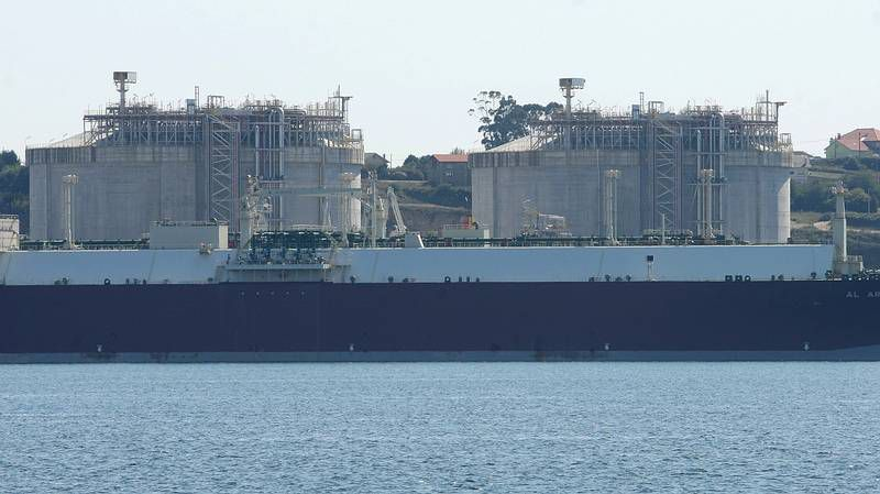 Reganosa completó una carga entera en el buque «Lobito» el pasado mes de agosto.