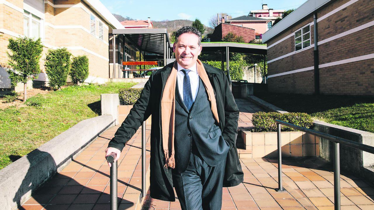 Adolfo Rivas, director gerente de la Fundación Vinjoy