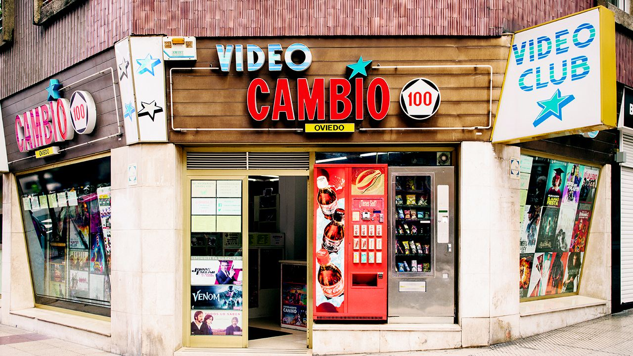 Video club Cambio 100 en Oviedo