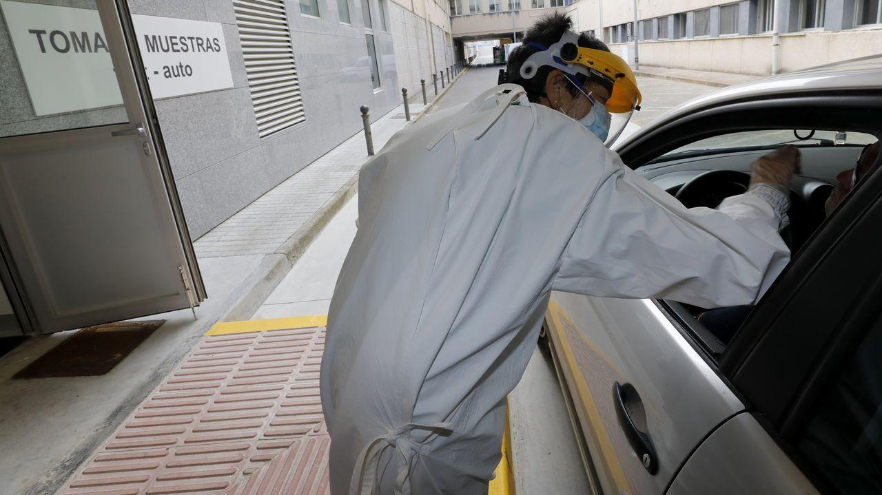 En A Mariña continúan las pruebas para detectar posibles sospechosos