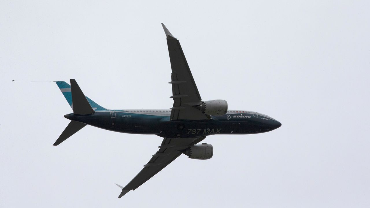 El Boeing 737 MAX que está hoy realizando pruebas de certificación de vuelo