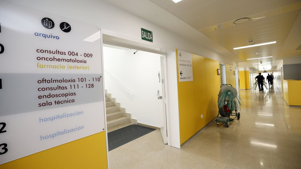 Exterior del centro de salud de Chantada, donde se harán obras de mejora