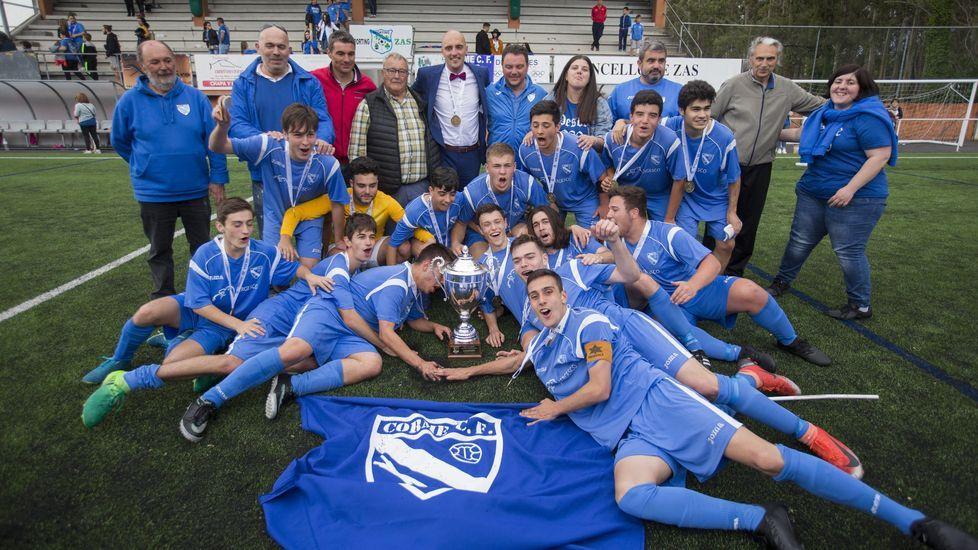 El Corme se llevó la Copa da Costa Juvenil frente al Outes: ¡las imágenes!