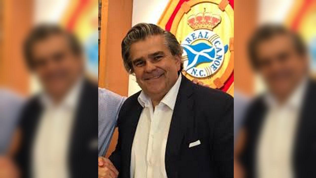 Pablo Rosón Cedrón, en una imagen del Real Canoe