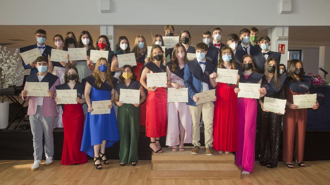 Las imágenes de la graduación del IES Monte Neme de Carballo