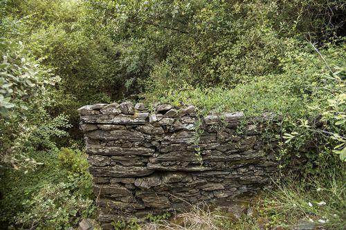 Del molino de la Casa do Severino solo quedan ruinas