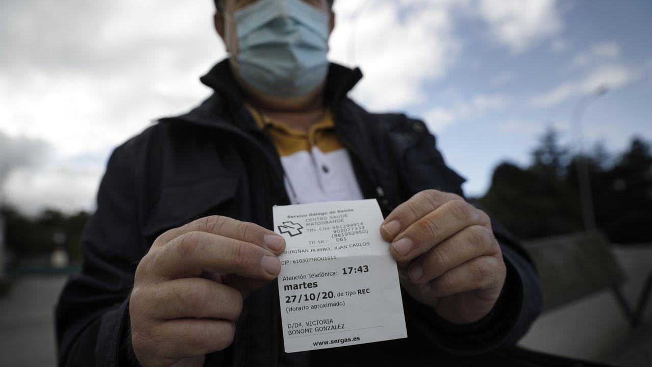 Centro de salud de la comarca mariñana sin pacientes