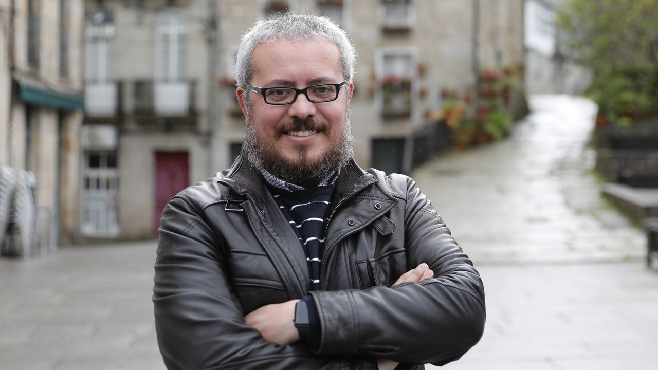 César Fernández, alcalde de Ribadavia por el PP