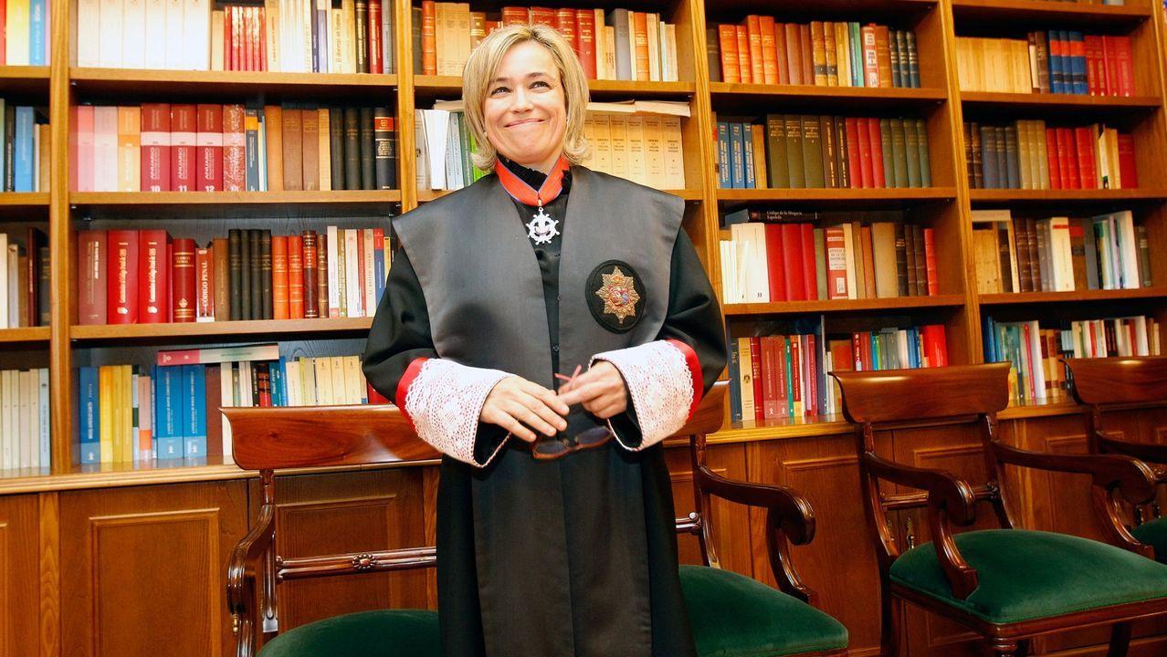 Consuelo Castro Rey, abogada general del Estado y directora del Servicio Jurídico del Estado