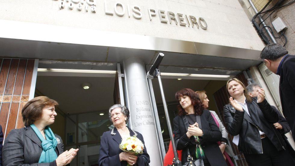 La Casa da Cultura de Monforte lleva el nombre de Lois Pereiro desde el año 2016