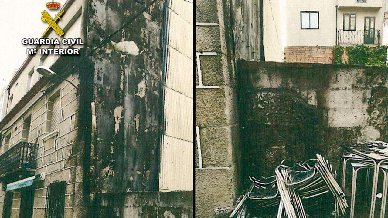 Edificio okupado en el Postigo Bajo