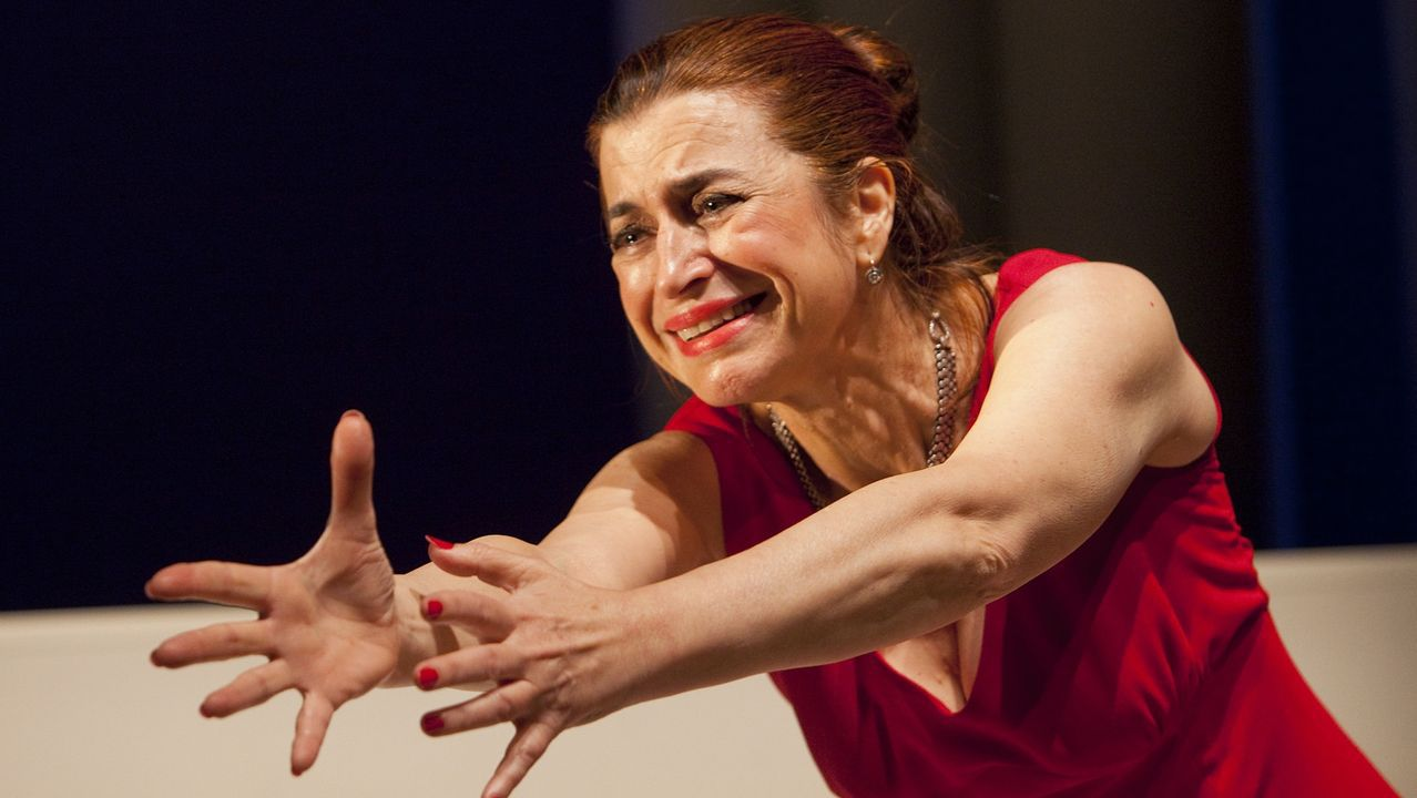 María Barcala, de Teatro do Atlántico, actuará en el Círculo