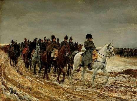 Las tropas comandadas por Napoleón sufrieron numerosas bajas atacadas por enemigos microscópicos.