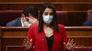 Inés Arrimadas,  en el Congreso