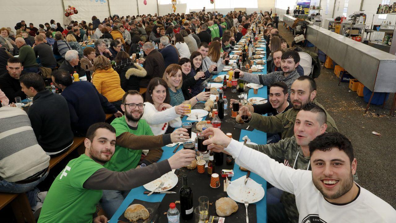 El gordo de Navidad marca la Festa da Xuventude de Boizán