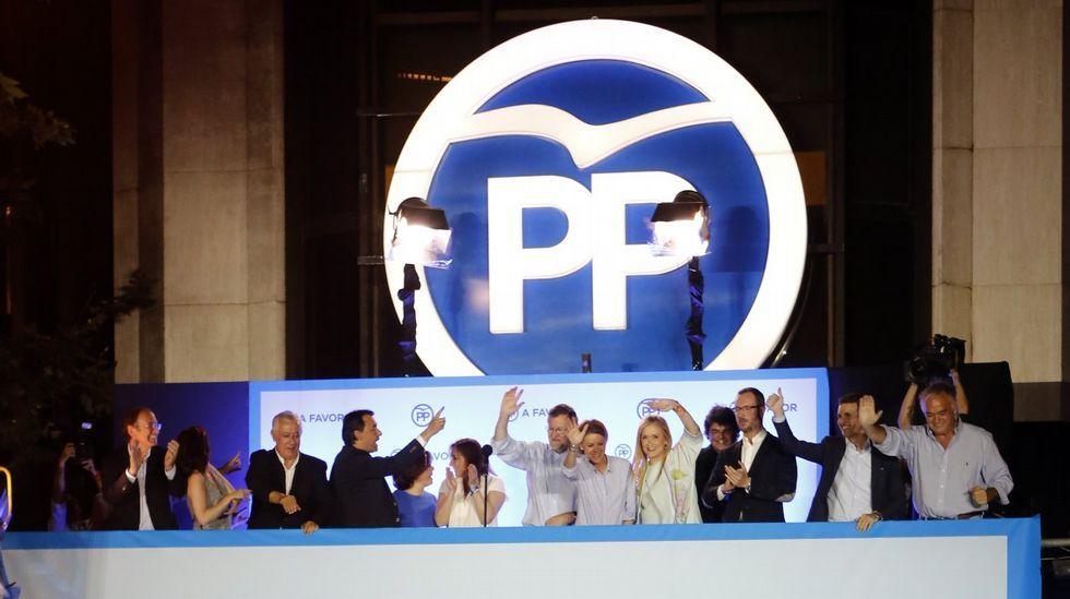 «Charrán o gaviota», el PP discute sobre su logo.Mercedes Fernández
