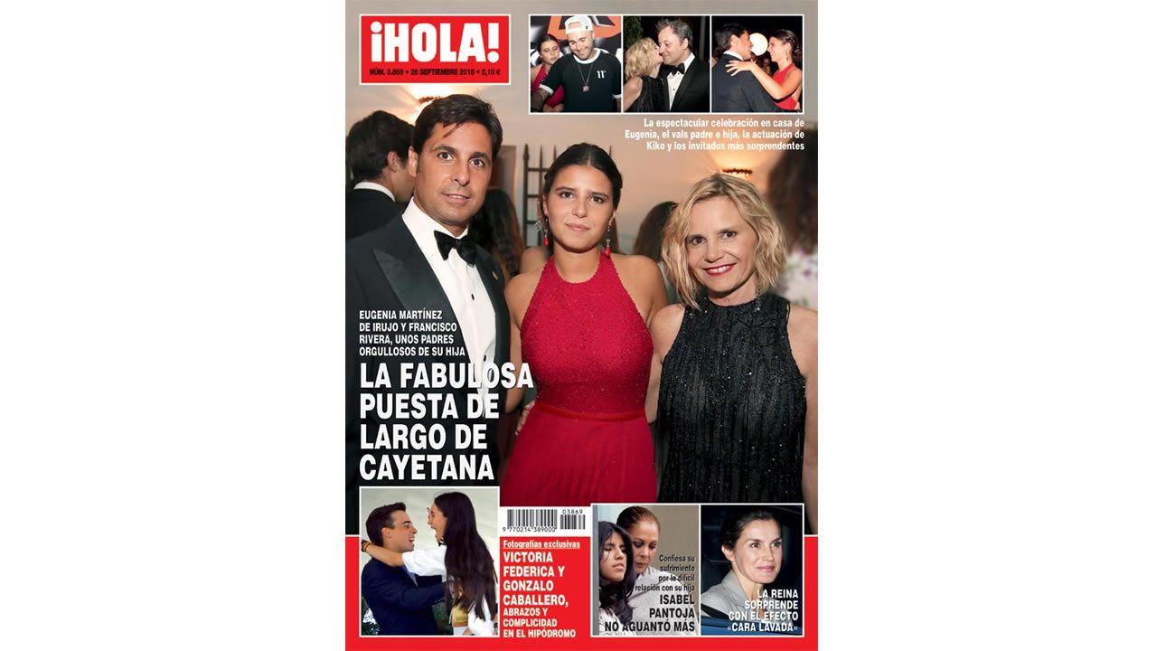 Fran Rivera y Lourdes Montes esperan su segundo hijo juntos.Olga Alonso, en su toma de posesión como concejala