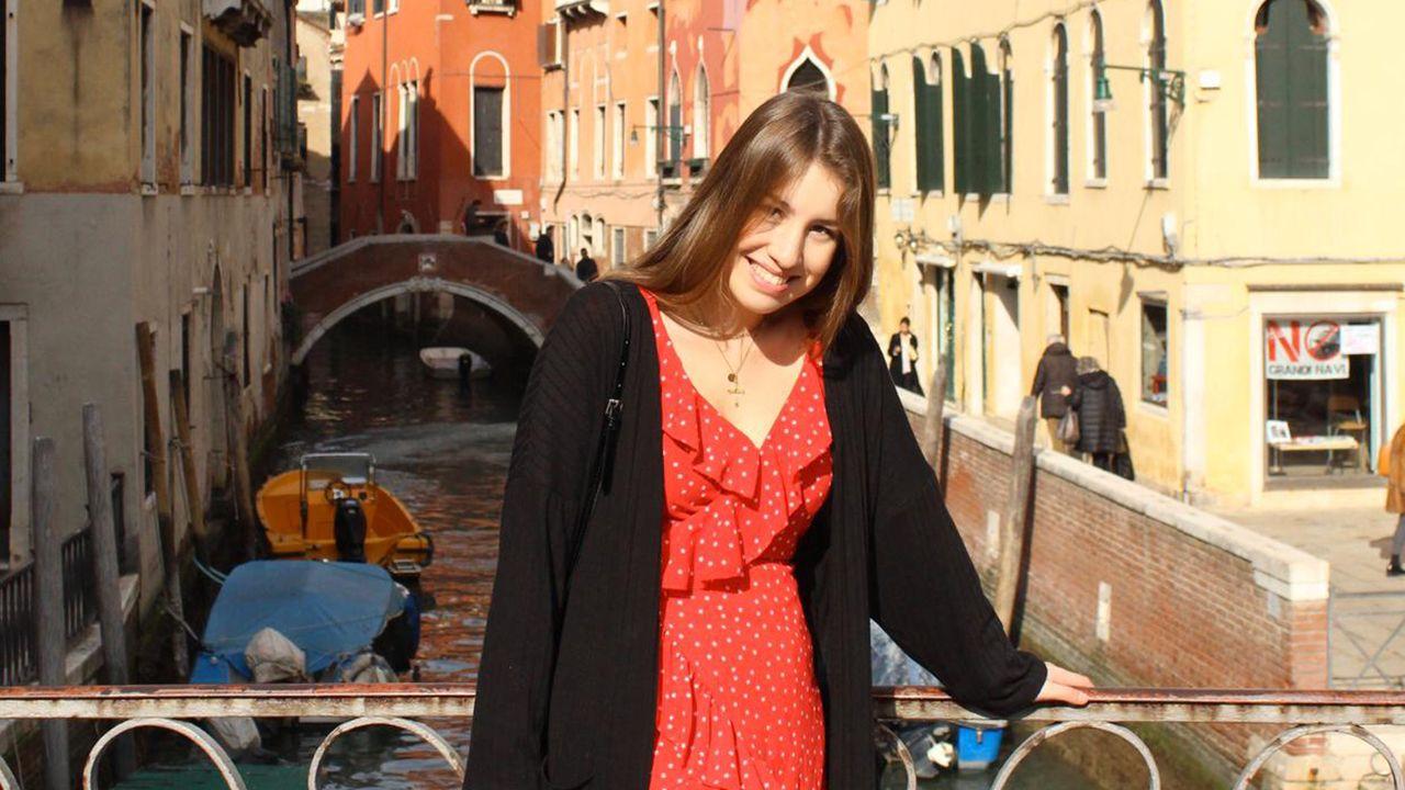 Lucía Martínez en Venecia