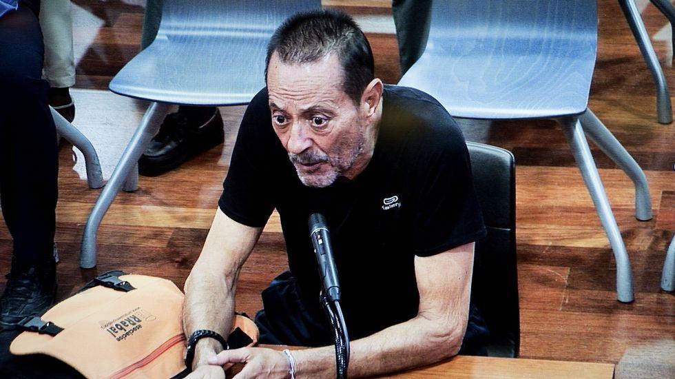 Julián Muñoz sale de la cárcel.Julián Muñoz durante el juicio del caso Malaya