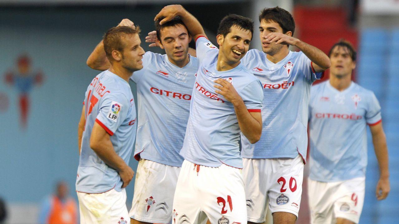 86 - Celta-Huesca (4-0) el 22 de octubre del 2011. Doblete de Iago