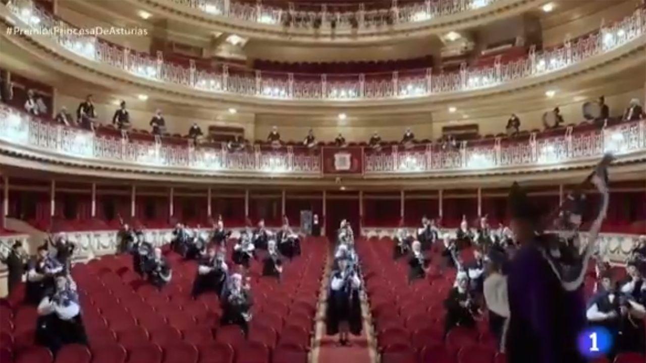 Himno de Asturias.La princesa Leonor