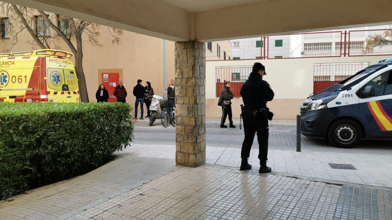 Un desahucio en Palma de Mallorca