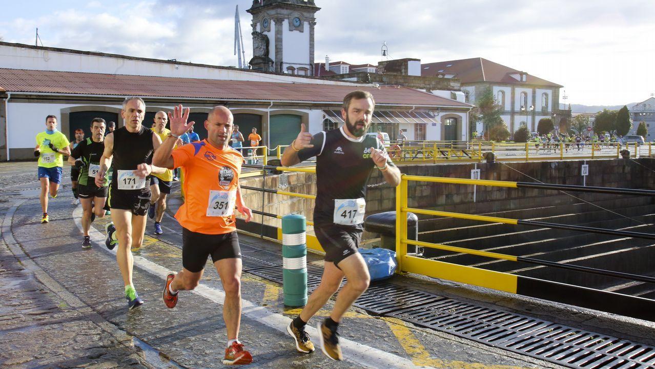 La carrera popular de San Xiao llenó de deportistas las calles de Ferrol