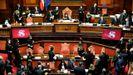 El recuento de la votación se alargó en el Senado tras más de once horas de debate
