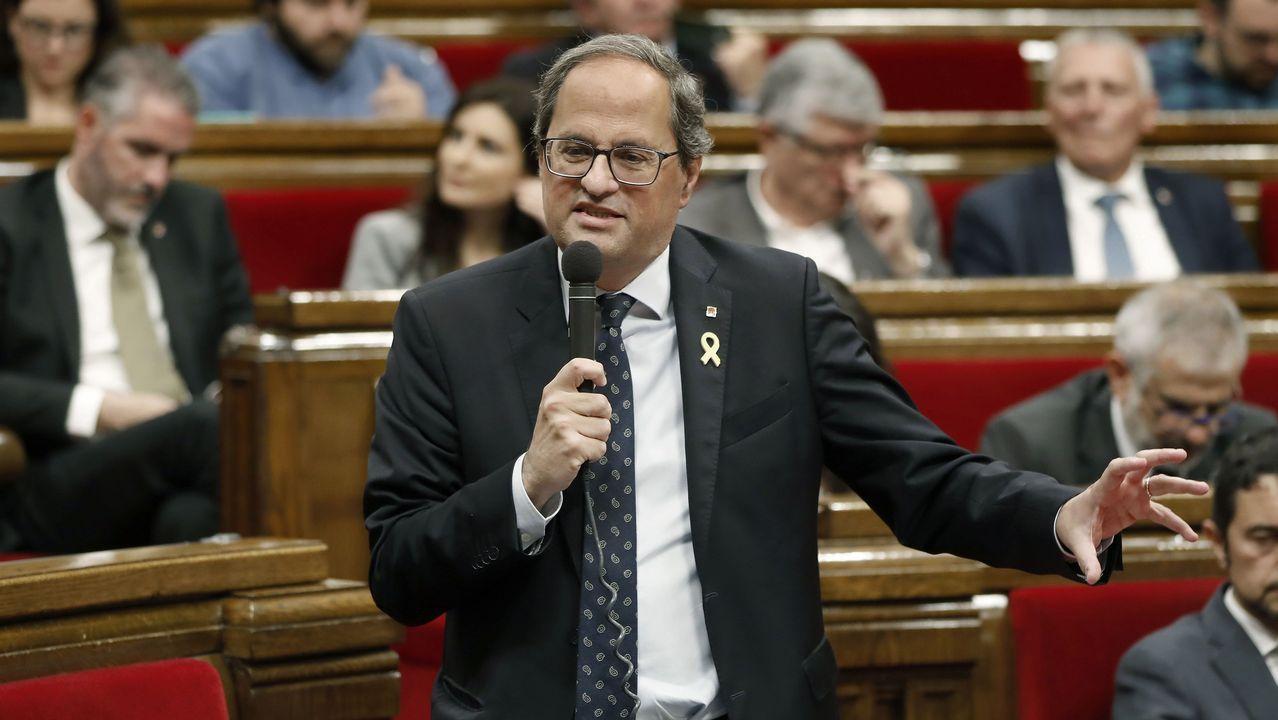 La trayectoria política de Pérez Rubalcaba en imágenes.Miquel Iceta, en el Parlament