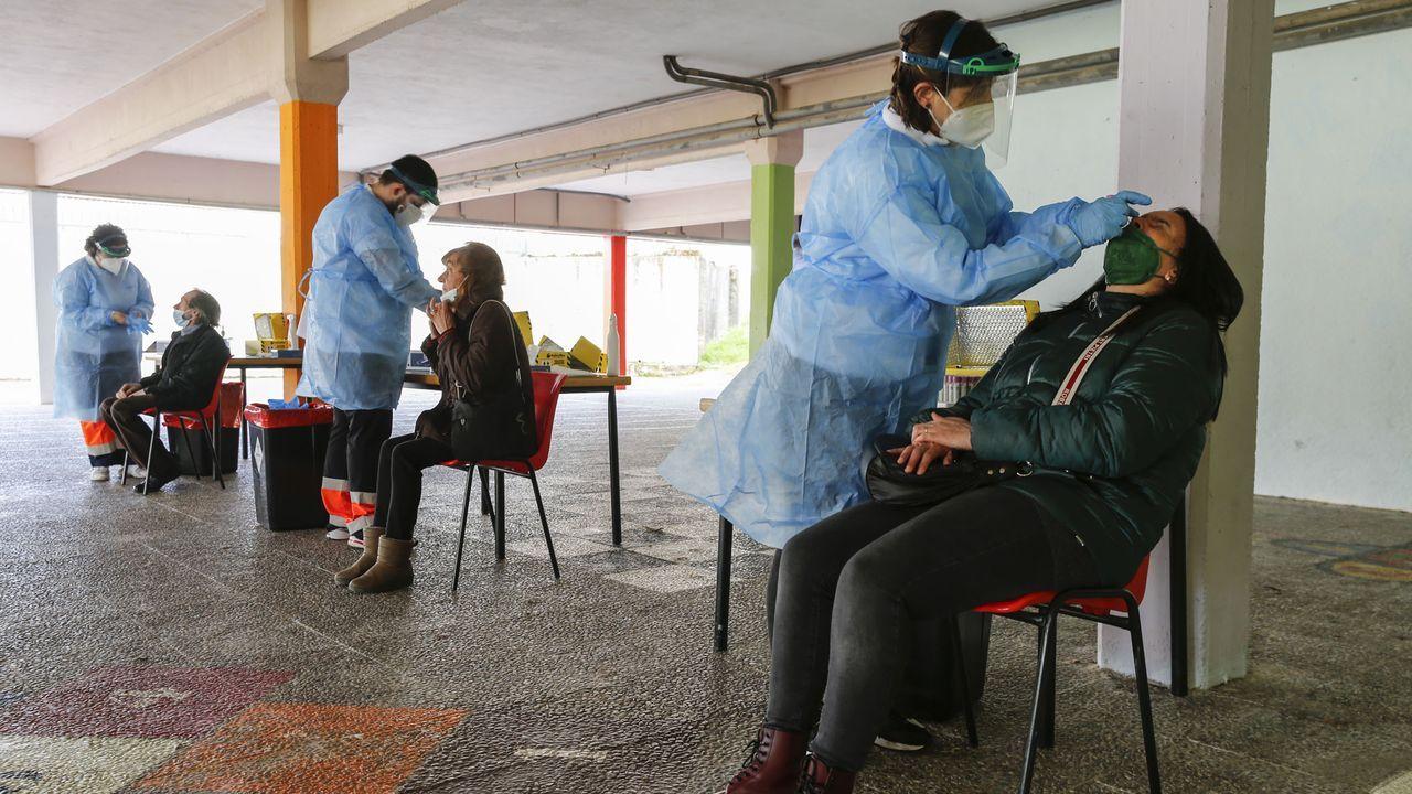 Una escena de la unidad de críticos del Chuo en plena segunda ola de la pandemia