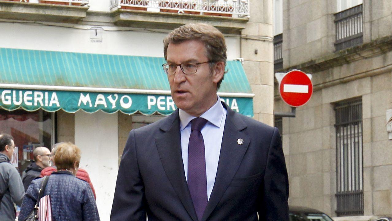 Feijoo: «Soy el presidente de la Xunta y mi compromiso es cumplir con mis obligaciones»