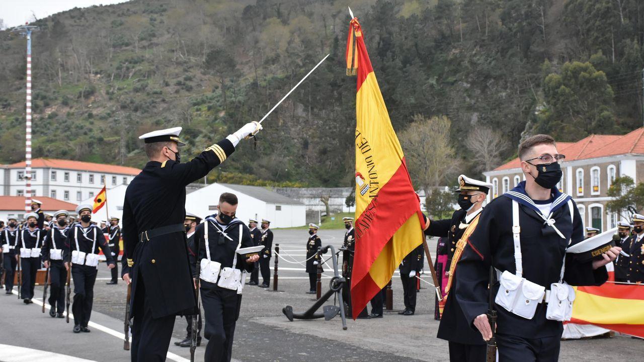 Imagen de archivo de un simulacro «Marsec» en Vigo
