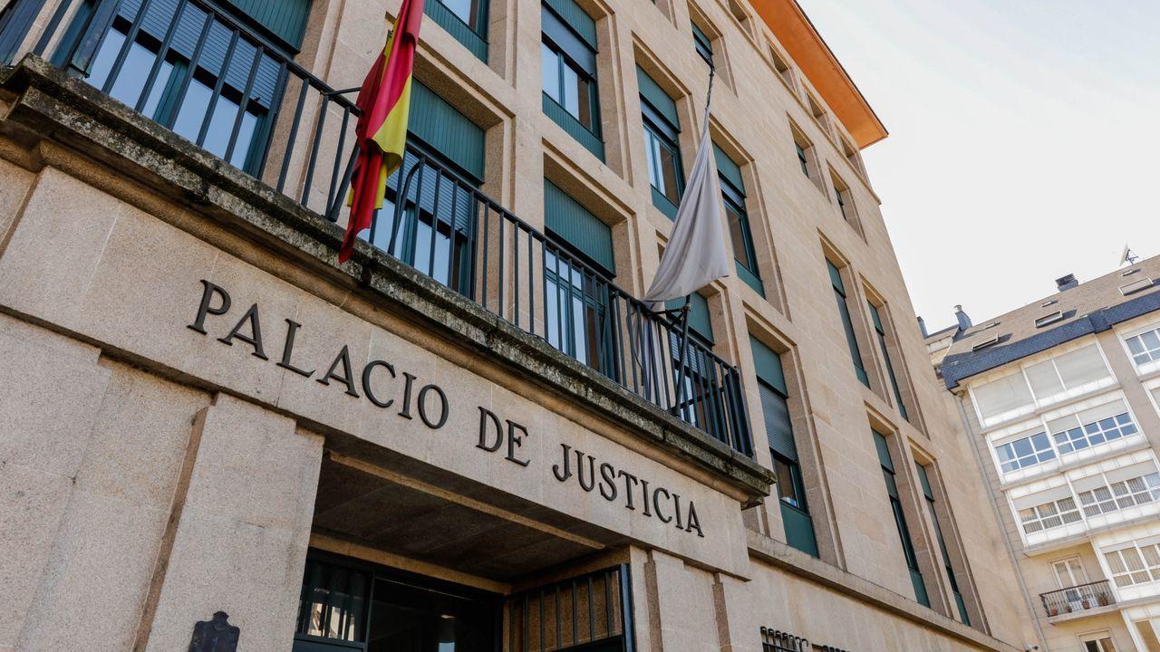 El conductor acusado del atropello, en enero en el juzgado penal de Ourense