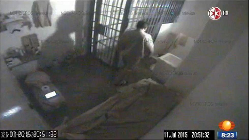 El audio del momento de la fuga del Chapo Guzmán.El Chapo, llevado a la cárcel en el 2014