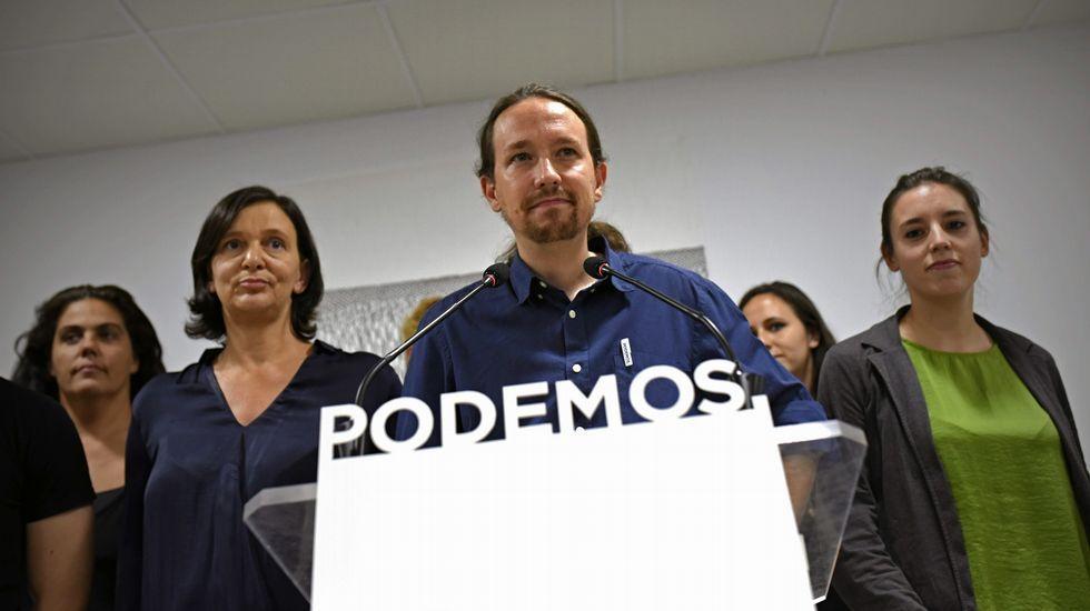 El secretario general de Podemos ha reconocido que los resultados de su candidatura son «decepcionantes»