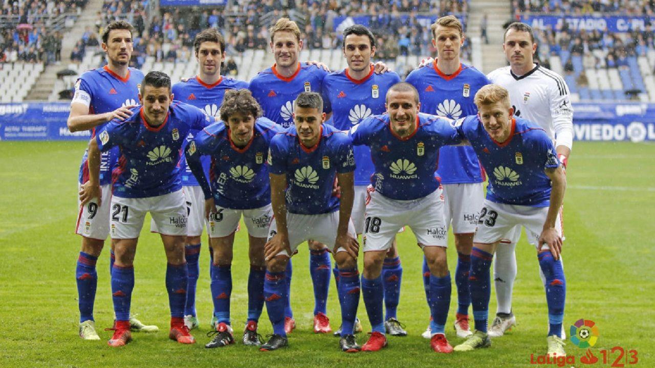 Anquela Real Oviedo Numancia Carlos Tartiere.Alineación del Real Oviedo ante el Alcorcón