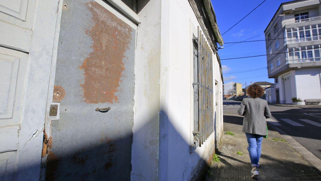 Imagen de archivo de una vivienda tapiada en Lugo