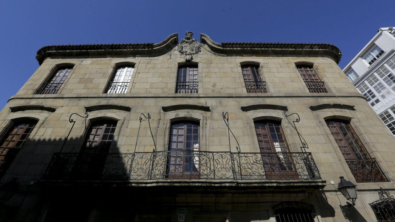 El pazo de Meirás está situado en el municipio de Sada