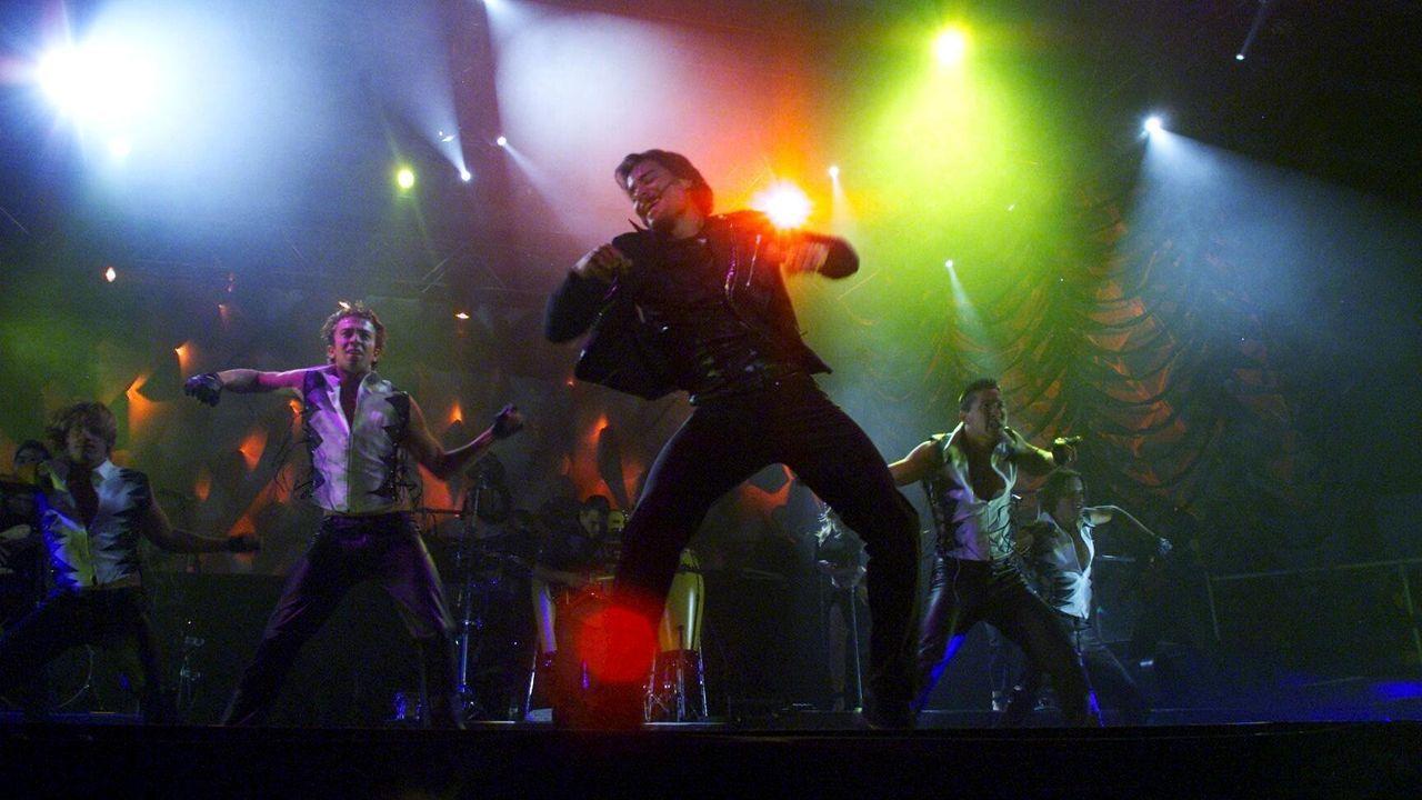 Schlesinger, en un concierto en el 2007