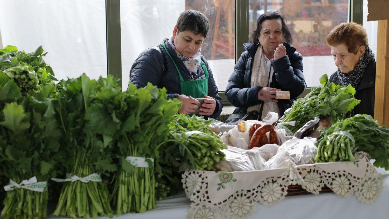 La feria Expogrelo surgió para promocionar el grelo cosechado en Abadín