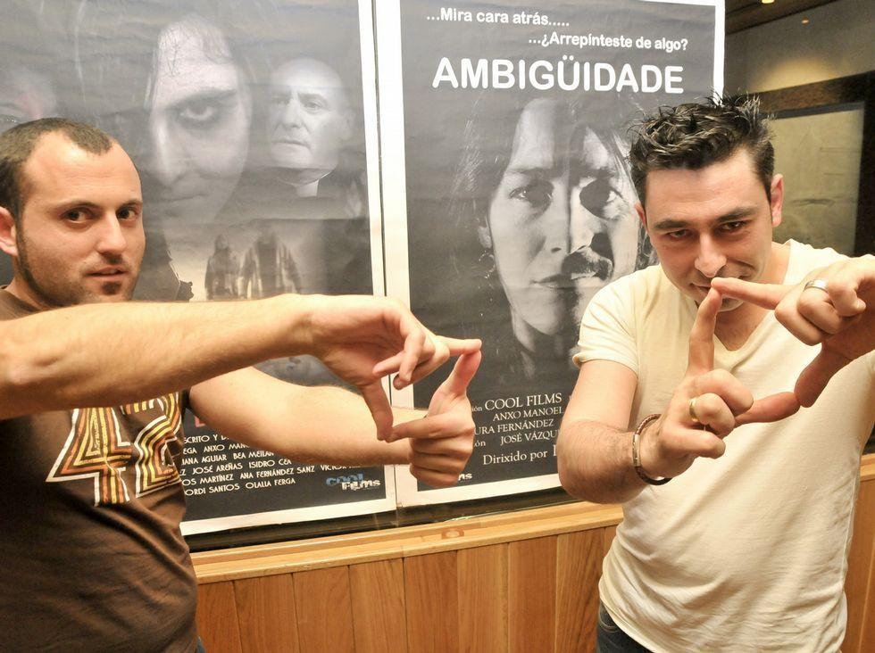 Luis Noriega y Jordi Santos, dos de los fundadores de Cool Films.